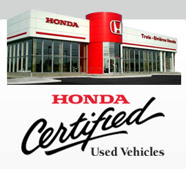 Preowned Honda Mauricie - Trois-Rivieres Honda